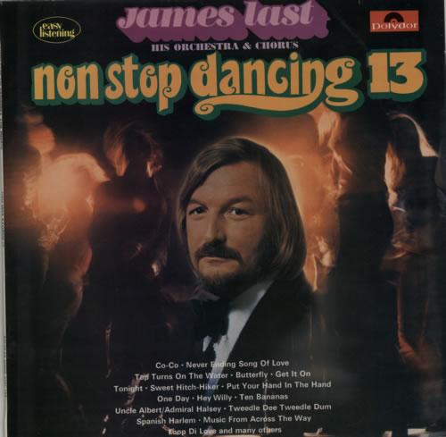 James Last Non Stop Dancing 13 vinyl LP album (LP record) UK JLSLPNO487544