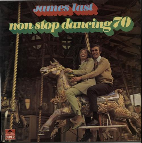 James Last Non Stop Dancing 70 vinyl LP album (LP record) UK JLSLPNO454802