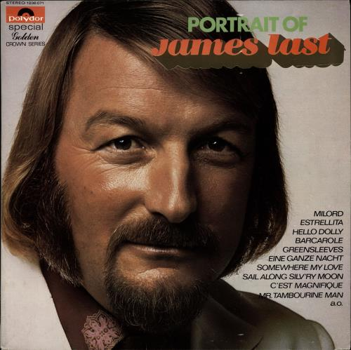 James Last Portrait Of James Last vinyl LP album (LP record) Dutch JLSLPPO695592
