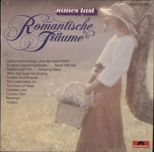 James Last Romantische Fraume [Romantic Dreams] vinyl LP album (LP record) German JLSLPRO702675