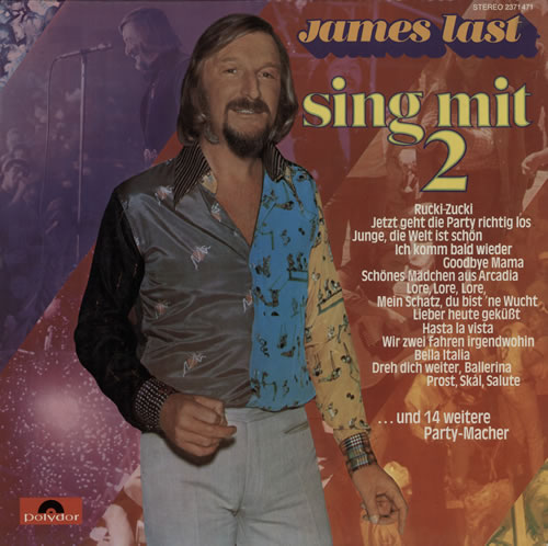 James Last Sing Mit 2 vinyl LP album (LP record) German JLSLPSI576827