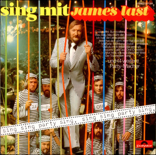 James Last Sing Mit James Last vinyl LP album (LP record) German JLSLPSI528708