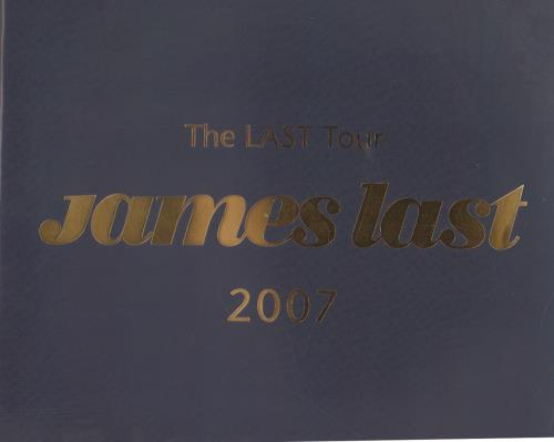 James Last The Last Tour + Ticket Stubs tour programme UK JLSTRTH647343