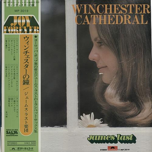 James Last Winchester Cathedral vinyl LP album (LP record) Japanese JLSLPWI614108