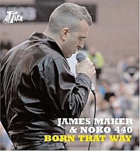"James Maker Born That Way CD single (CD5 / 5"") UK JM0C5BO306105"