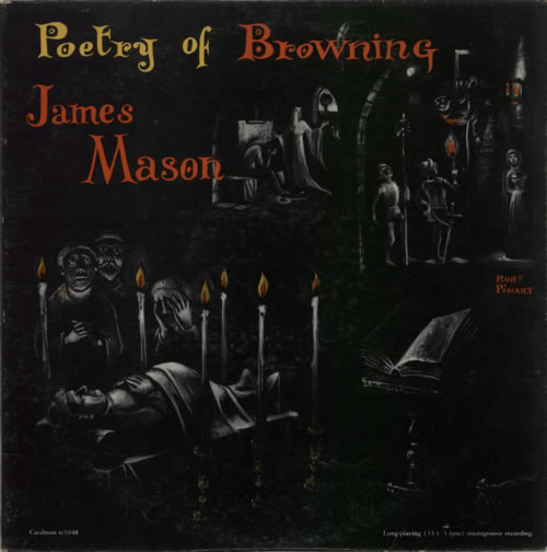 James Mason [50s] Poetry Of Browning vinyl LP album (LP record) US JM6LPPO594386