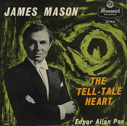 "James Mason [50s] The Tell-Tale Heart 7"" vinyl single (7 inch record) UK JM607TH366587"