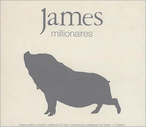 James Millionaires - Ltd Double CD + Slipcase 2 CD album set (Double CD) UK JMS2CMI145655