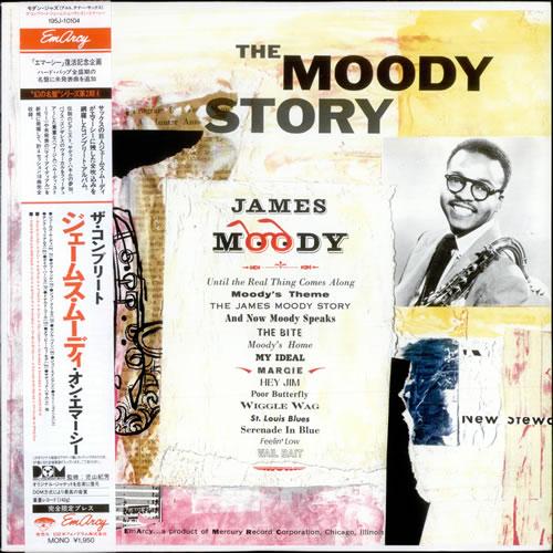 James Moody The Moody Story vinyl LP album (LP record) Japanese JM5LPTH527950