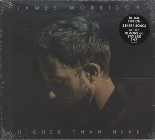 James Morrison High Than Here: Deluxe Edition - Sealed CD album (CDLP) UK JMOCDHI644739