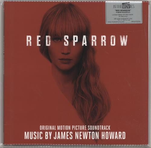 James Newton Howard Red Sparrow - 180gram Red Vinyl + Numbered 2-LP vinyl record set (Double Album) UK JHX2LRE698800