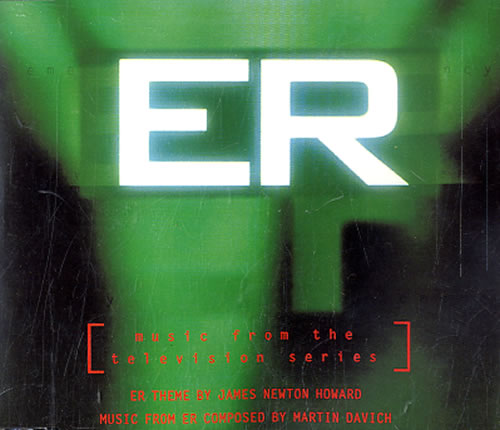 "James Newton Howard Theme From E.R. CD single (CD5 / 5"") UK JHXC5TH89638"