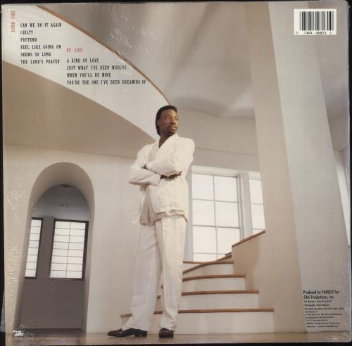James Robinson Guilty - stickered shrink vinyl LP album (LP record) US KS0LPGU749214