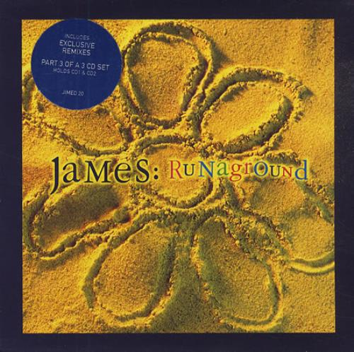 James Runaground - Parts 1, 2 & 3 UK 3-CD album set (Triple