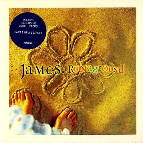 "James Runaground CD single (CD5 / 5"") UK JMSC5RU512848"