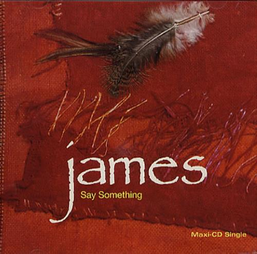 James Say Something US CD single (CD5 / 5