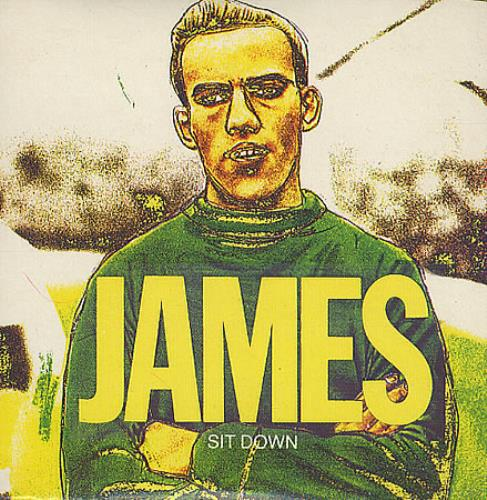 "James Sit Down 3"" CD single (CD3) UK JMSC3SI36411"