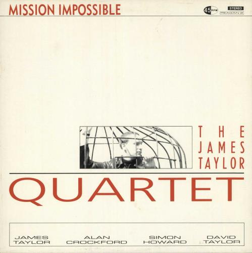 "James Taylor Quartet Mission Impossible 12"" vinyl single (12 inch record / Maxi-single) UK JTQ12MI466112"