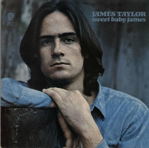 James Taylor Sweet Baby James - 2nd vinyl LP album (LP record) UK JTYLPSW588183
