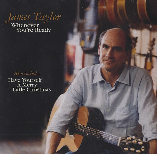 james taylor whenever youre ready cd single cd5 5 us - James Taylor Have Yourself A Merry Little Christmas