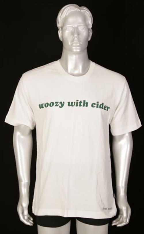 James Yorkston Woozy With Cider T-shirt - Large t-shirt UK JT9TSWO493549