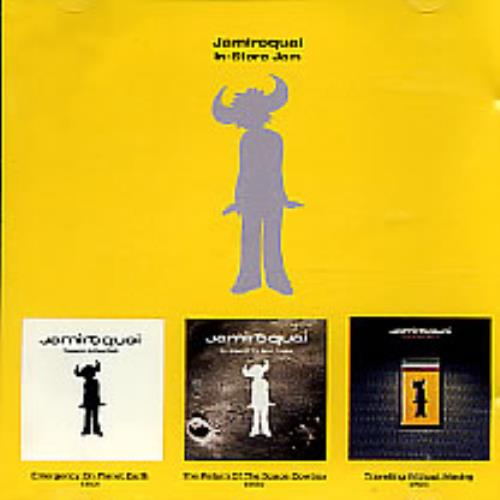 Jamiroquai In-store Jam CD album (CDLP) US JMQCDIN97305