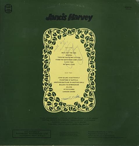 Jancis Harvey From The Darkness Came Light - Autographed vinyl LP album (LP record) UK JCILPFR311253