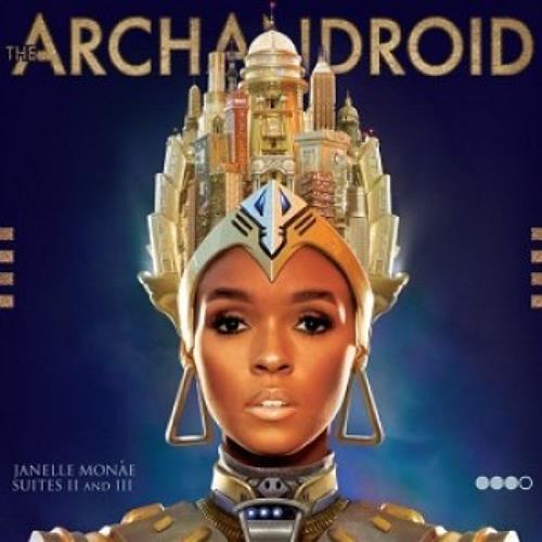 Janelle Monae The ArchAndroid CD album (CDLP) UK J2VCDTH513483