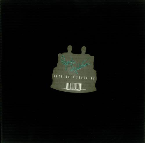 Janes Addiction Nothing's Shocking + Embossed PVC Outer Sleeve vinyl LP album (LP record) UK JANLPNO87895
