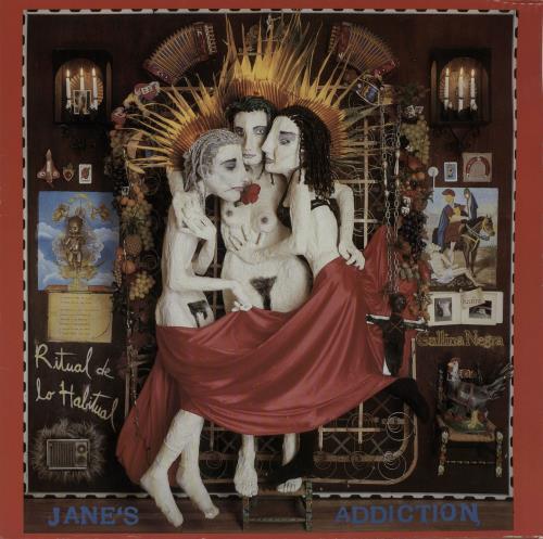 Janes Addiction Ritual De Lo Habitual - EX vinyl LP album (LP record) UK JANLPRI654695