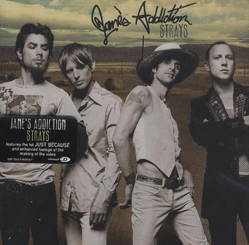 Janes Addiction Strays - Sealed CD album (CDLP) US JANCDST375193