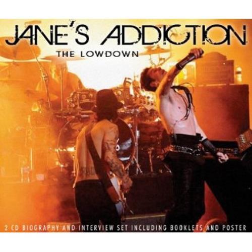 Janes Addiction The Lowdown 2 CD album set (Double CD) UK JAN2CTH480143