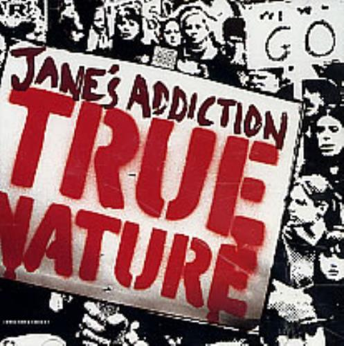 "Janes Addiction True Nature CD single (CD5 / 5"") US JANC5TR260363"