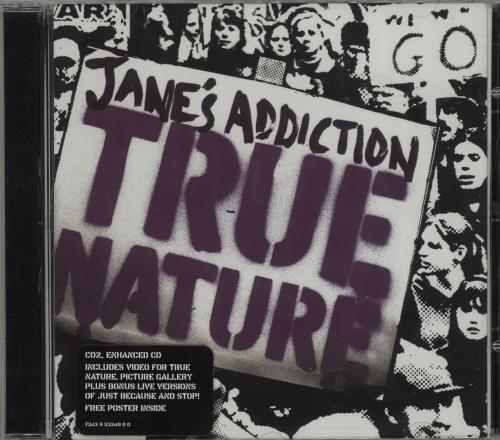 Janes Addiction True Nature 2-CD single set (Double CD single) UK JAN2STR261411