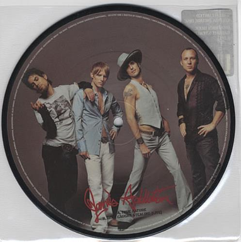 "Janes Addiction True Nature 7"" vinyl picture disc 7 inch picture disc single UK JAN7PTR261412"