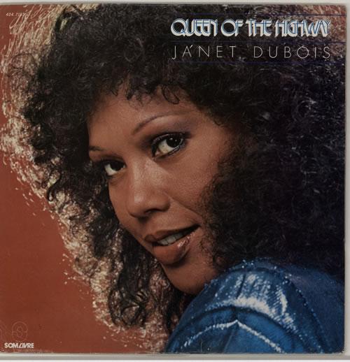 Ja'net Dubois Queen Of The Highway vinyl LP album (LP record) Brazilian K1ALPQU618944