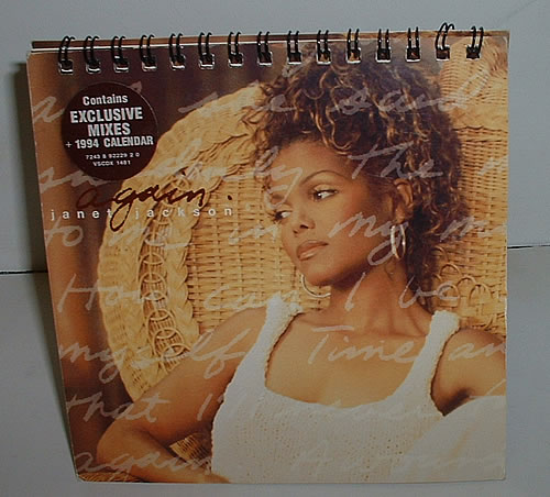 "Janet Jackson Again CD single (CD5 / 5"") UK J-JC5AG32384"