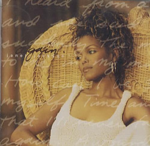 "Janet Jackson Again CD single (CD5 / 5"") Japanese J-JC5AG86871"