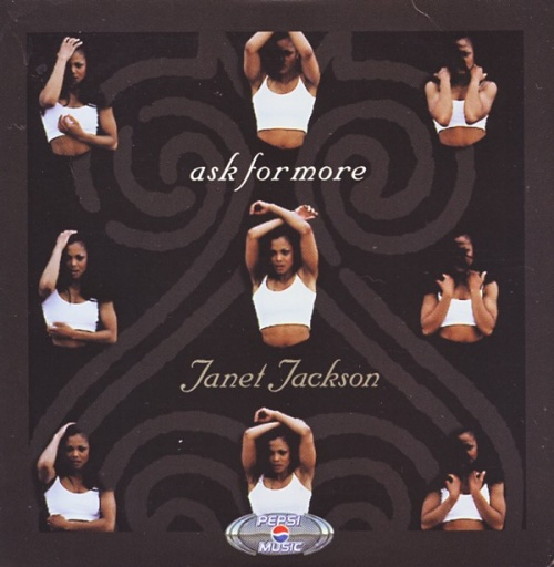 "Janet Jackson Ask For More CD single (CD5 / 5"") UK J-JC5AS143907"