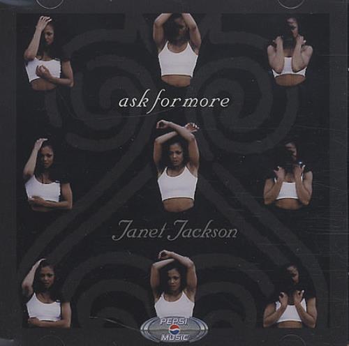 Janet Jackson Ask For More CD-ROM US J-JROAS305421