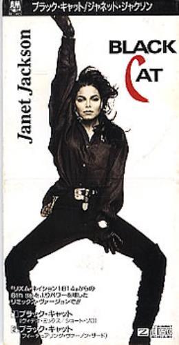 "Janet Jackson Black Cat 3"" CD single (CD3) Japanese J-JC3BL299684"