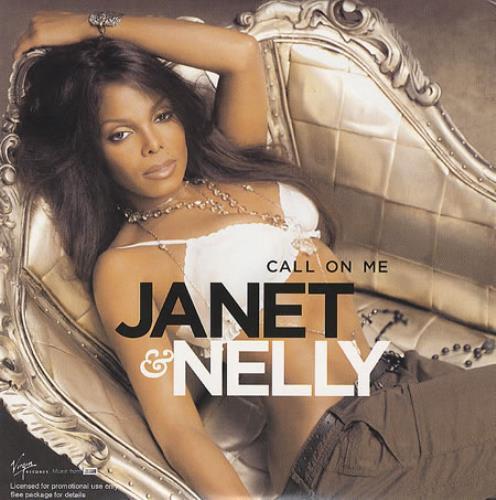 "Janet Jackson Call On Me CD single (CD5 / 5"") UK J-JC5CA374977"