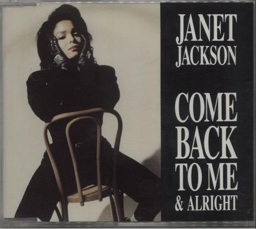 "Janet Jackson Come Back To Me CD single (CD5 / 5"") UK J-JC5CO40581"