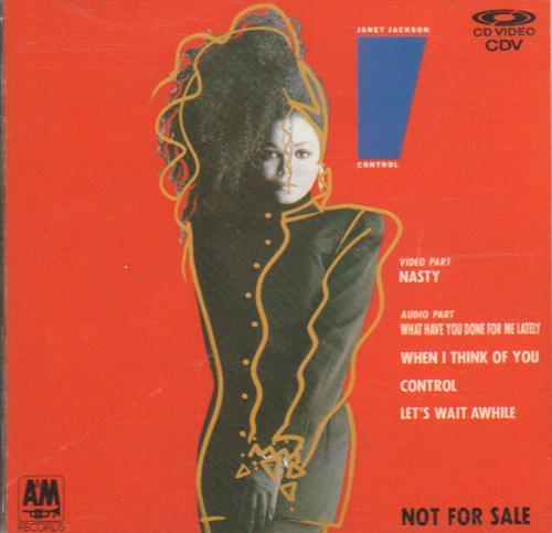 "Janet Jackson Control Cd-v CD single (CD5 / 5"") Japanese J-JC5CO60615"