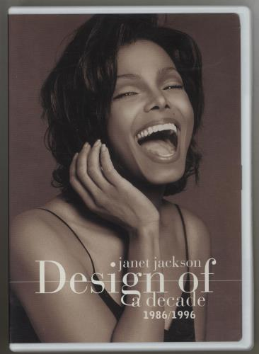 Janet Jackson Design Of A Decade 1986/1996 DVD US J-JDDDE752740