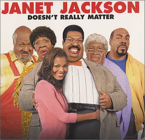 "Janet Jackson Doesn't Really Matter 12"" vinyl single (12 inch record / Maxi-single) UK J-J12DO168793"