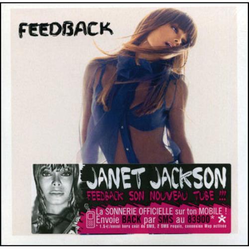 "Janet Jackson Feedback CD single (CD5 / 5"") French J-JC5FE430565"
