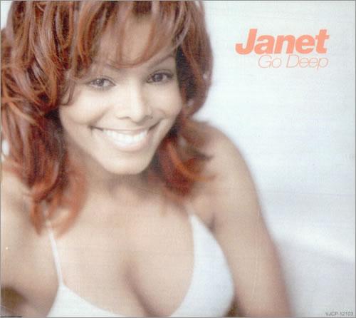 "Janet Jackson Go Deep CD single (CD5 / 5"") Japanese J-JC5GO213304"