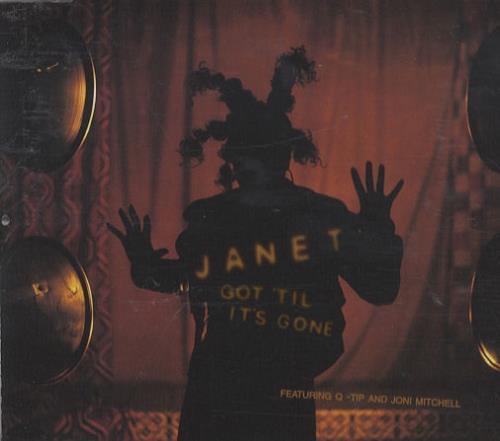 """Janet Jackson Got Til Its Gone CD single (CD5 / 5"""") Canadian J-JC5GO122301"""