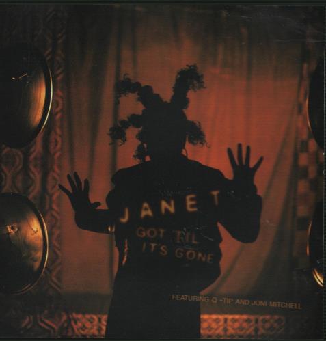 "Janet Jackson Got 'till It's Gone CD single (CD5 / 5"") US J-JC5GO94851"